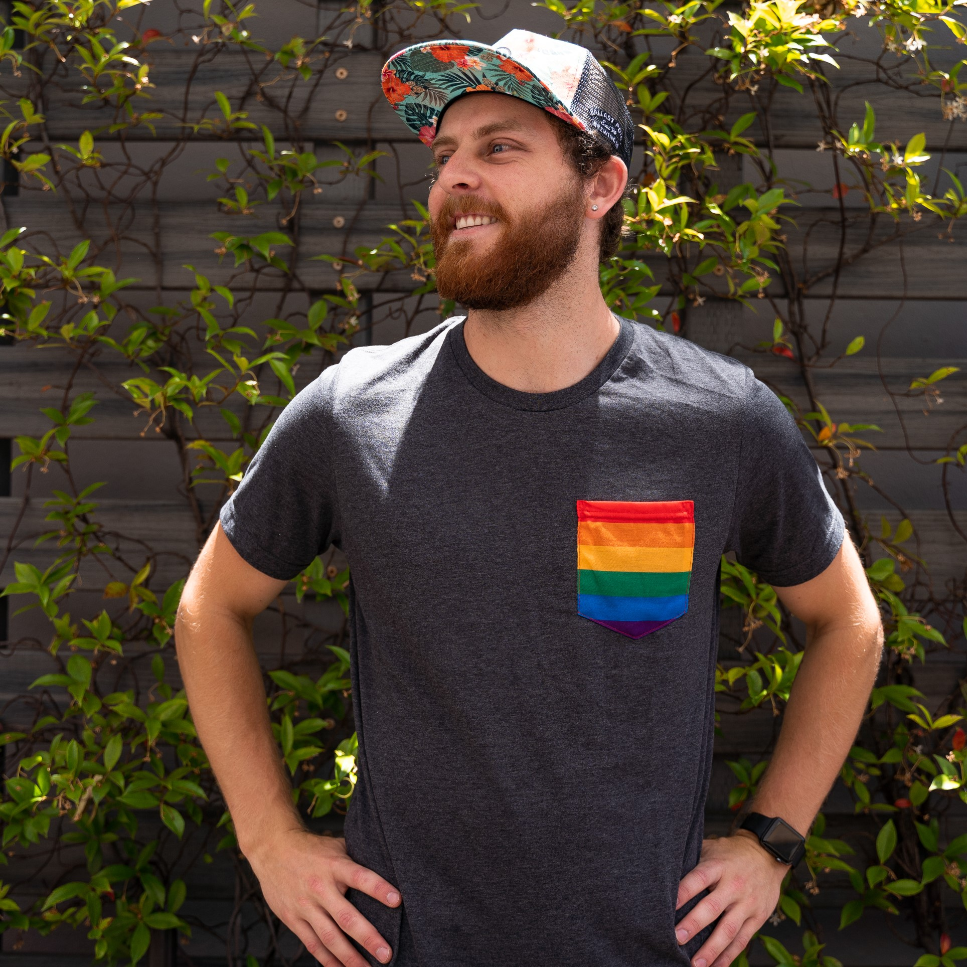 Ballast Point San Diego Pride Pocket Tee SWATCH