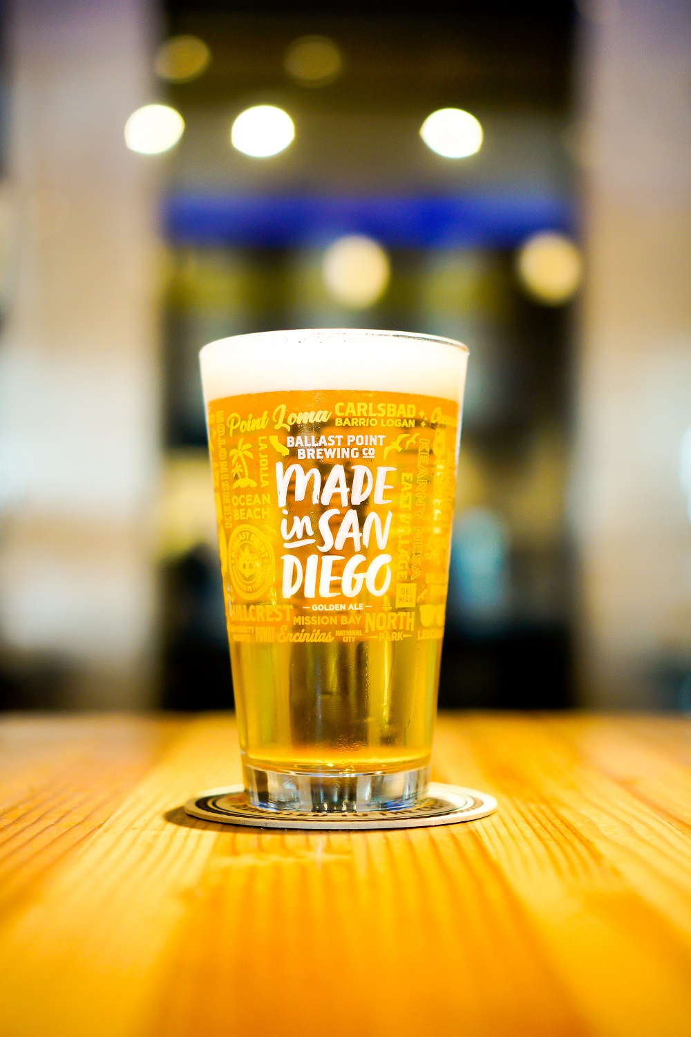 Made In San Diego Pint Glass THUMBNAIL