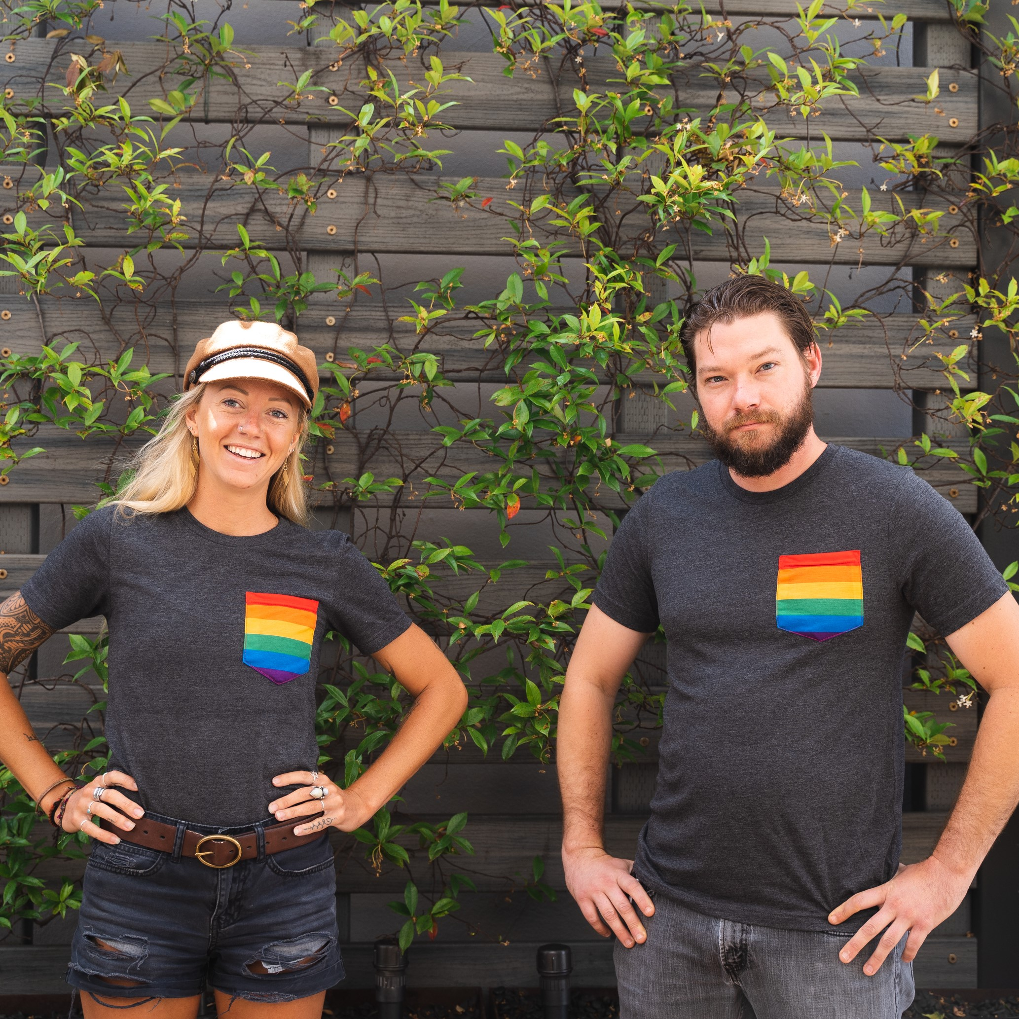 Ballast Point San Diego Pride Pocket Tee THUMBNAIL