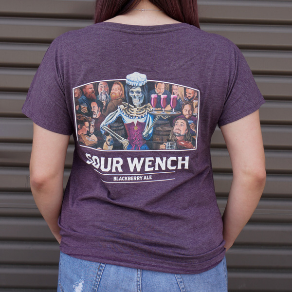 Women's Sour Wench Tee LARGE