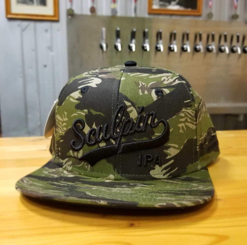 7b7739423b928 Sculpin Camo SnapBack – Ballast Point Brewing Co. Online Store