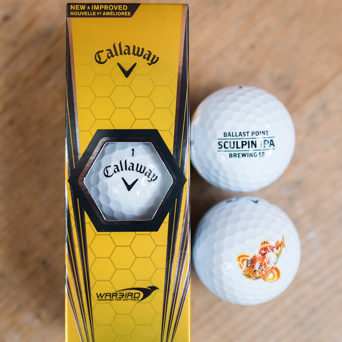 Sculpin Golf Ball Sleeve MAIN