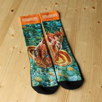 Ballast Point Sculpin Socks