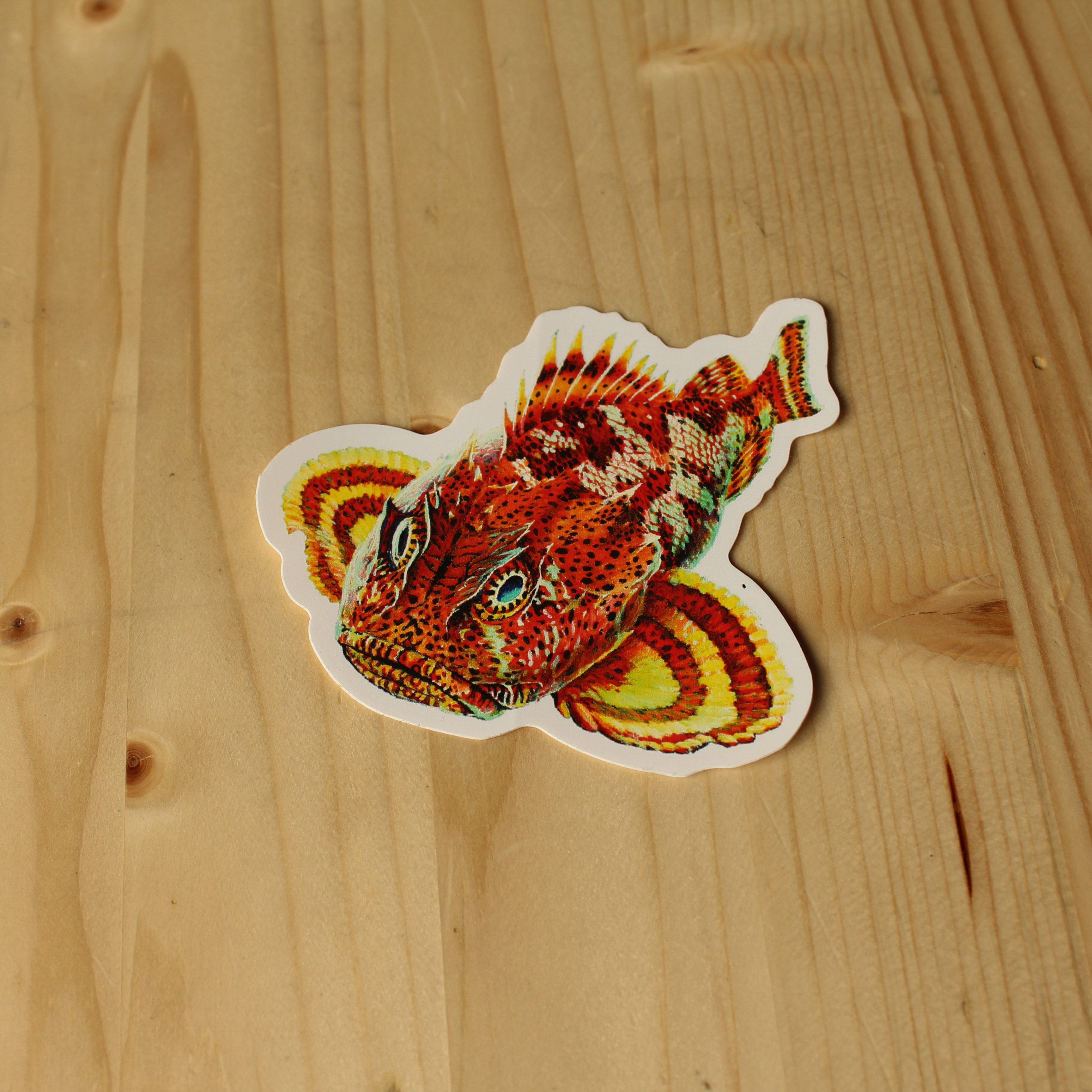 Ballast Point Die Cut Sculpin Sticker