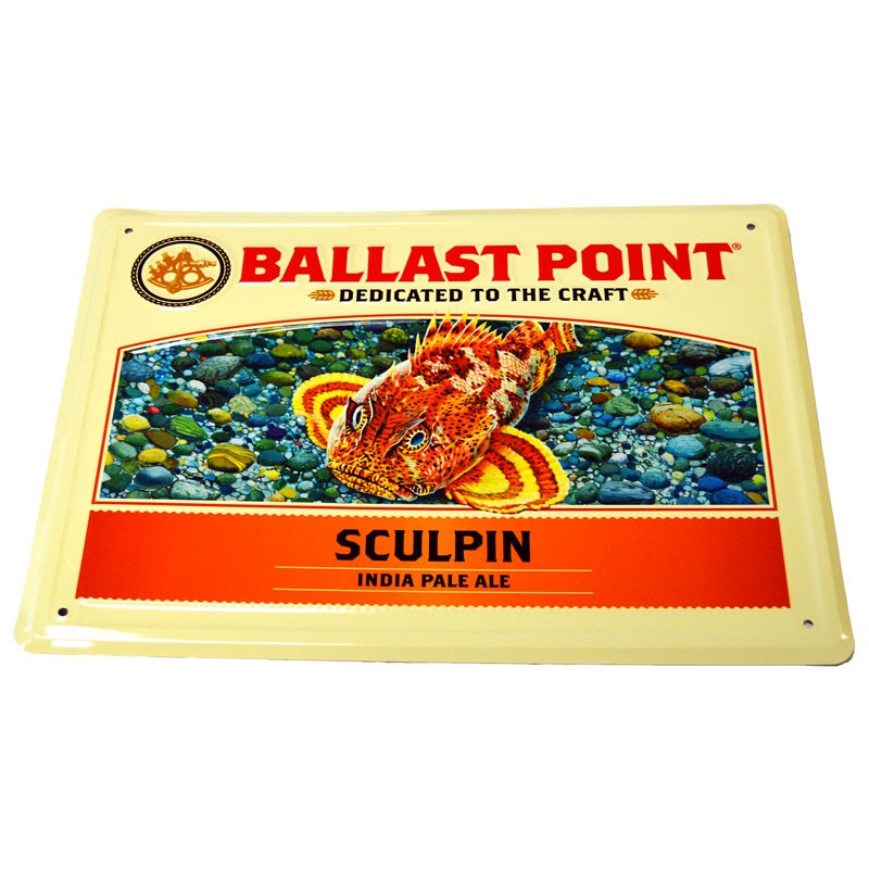 Sculpin Tin Sign
