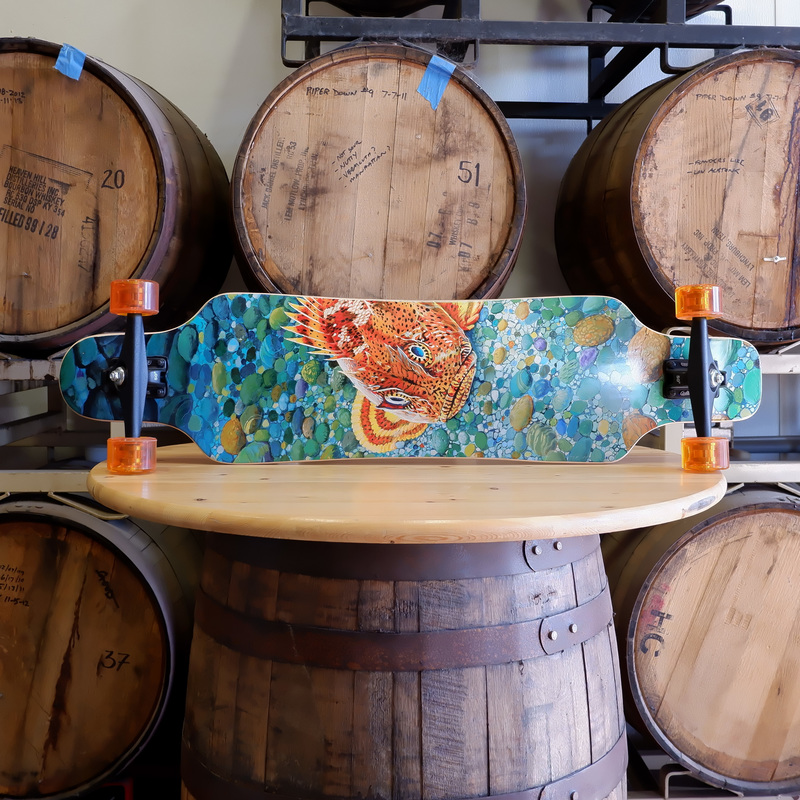 Sector 9+Sculpin Skateboard LARGE
