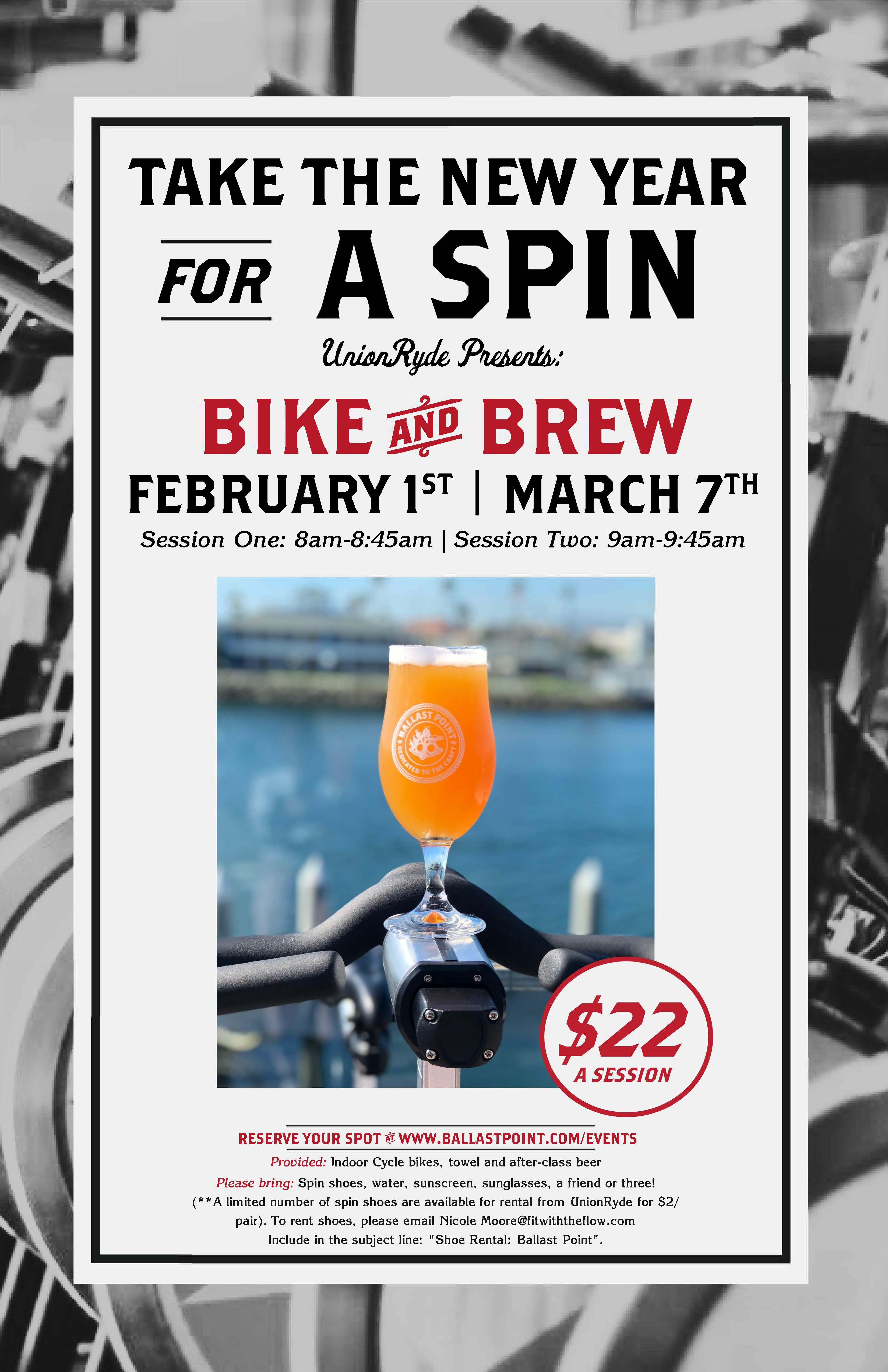Bike & Brew: Cycling and Sipping Class - Long Beach MAIN