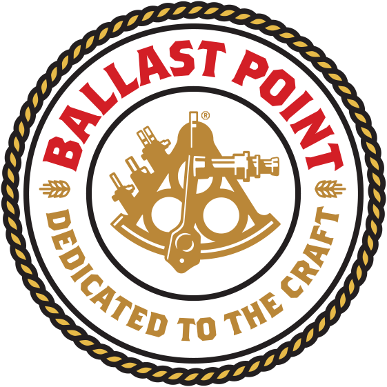 Ballast Point Round Logo Sticker