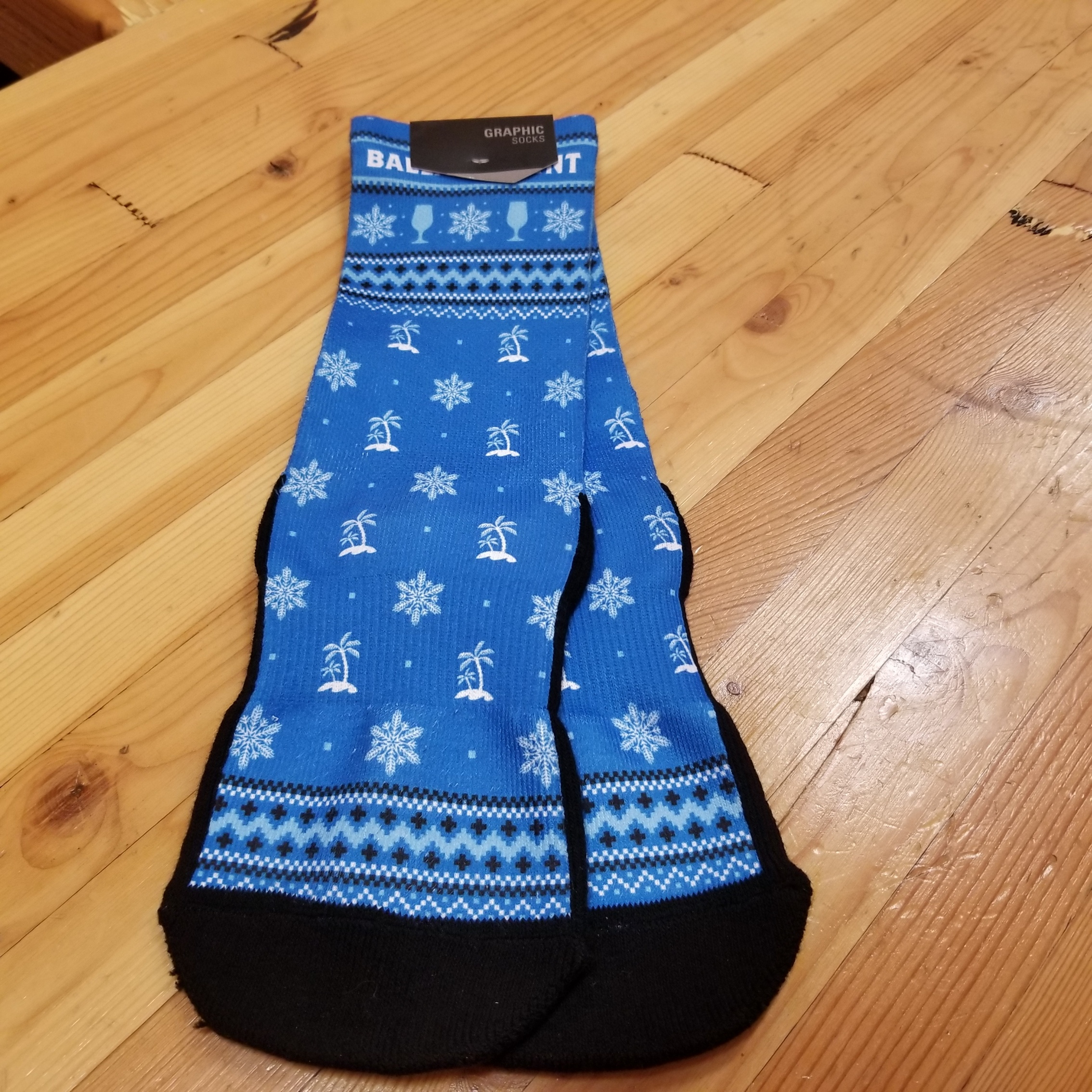 Ballast Point Ugly Socks SWATCH
