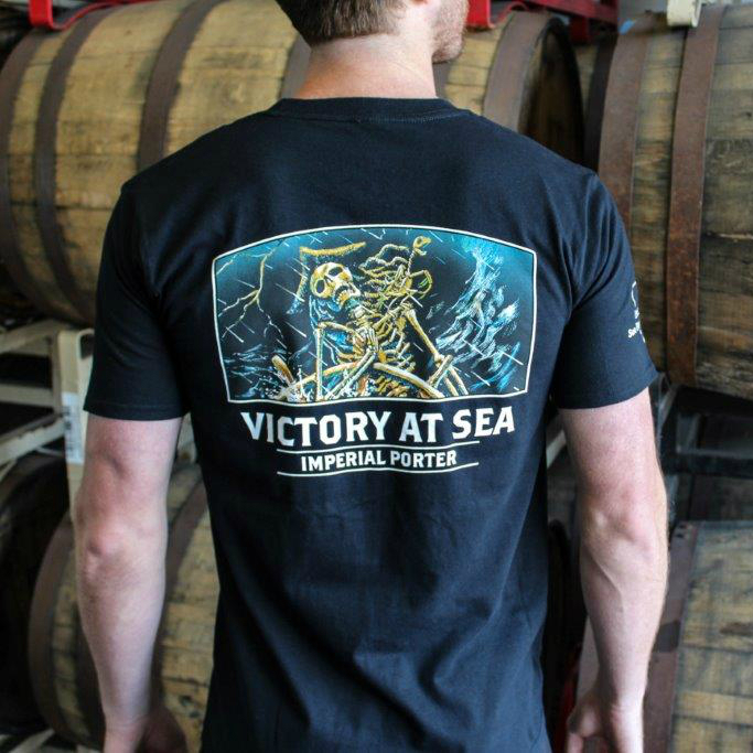 Victory at Sea Men's Black T-Shirt THUMBNAIL