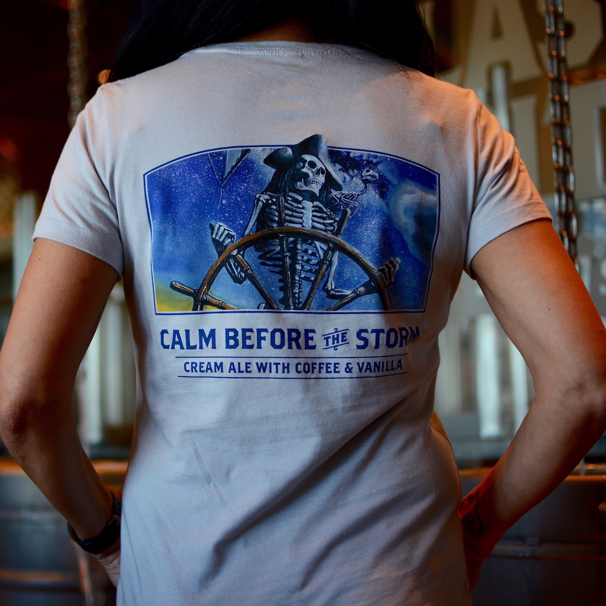 Calm Before the Storm Women's T-Shirt THUMBNAIL