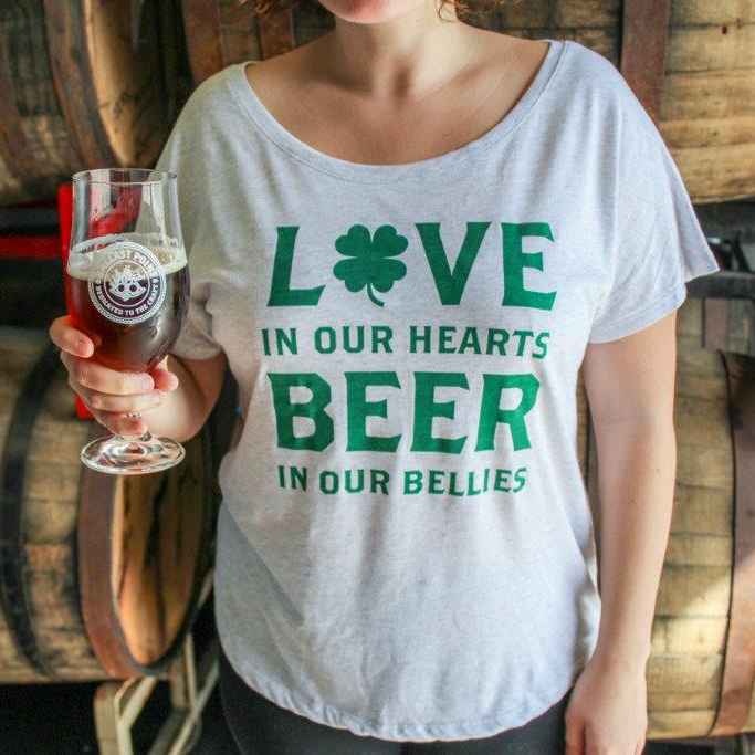 Women's St. Patrick's Day T-Shirt_LARGE