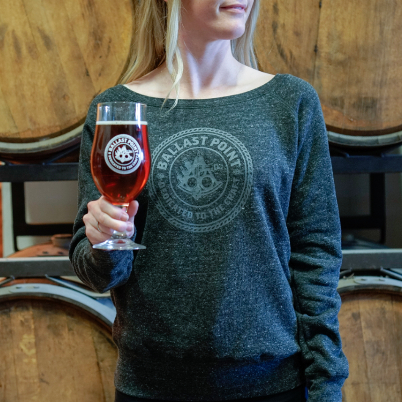 Ballast Point Women's Crew Neck Sweatshirt THUMBNAIL