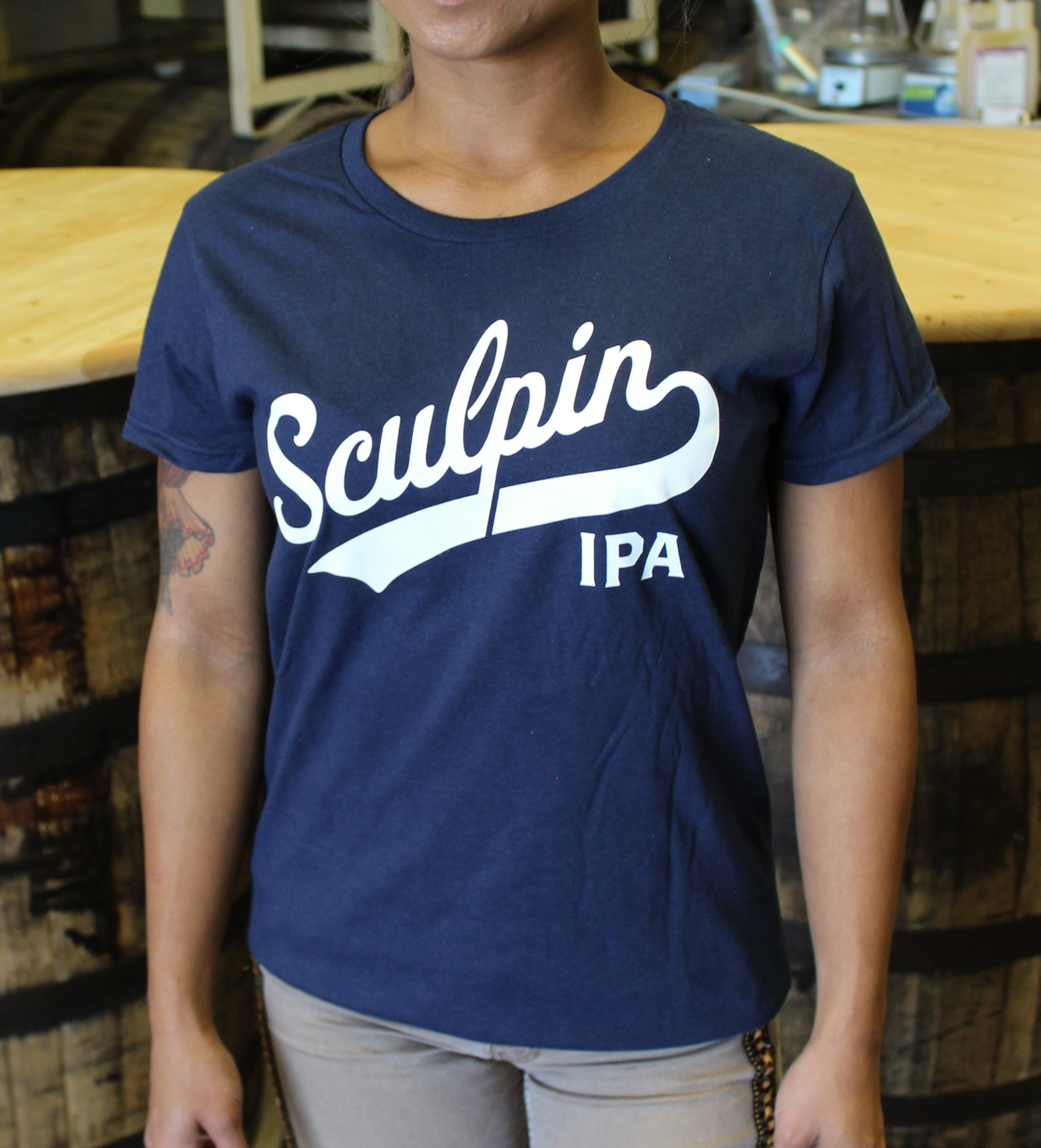 Women's Sculpin Baseball T-Shirt