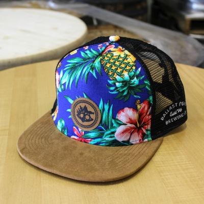 Ballast Point Aloha Suede Bill Trucker Hat THUMBNAIL