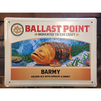 Barmy Tin Sign LARGE