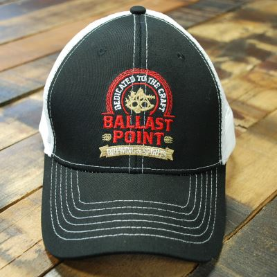 Ballast Point Black Classic Trucker Hat – Ballast Point Brewing Co ... 11d00667137