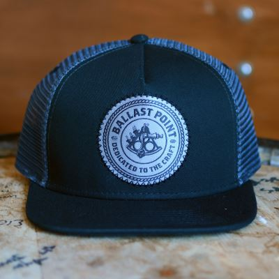 a4dfc87cc Ballast Point Black and Grey Trucker Hat