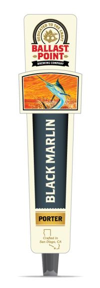 Black Marlin Tap Handles LARGE
