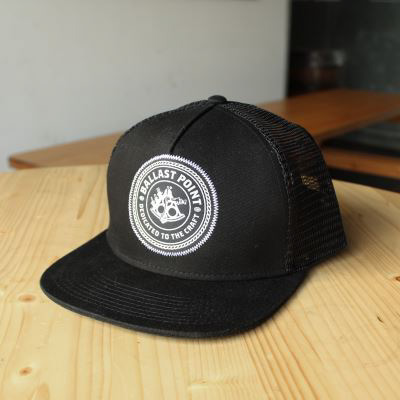 Ballast Point Black Trucker Hat
