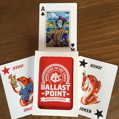 Ballast Point Playing Cards