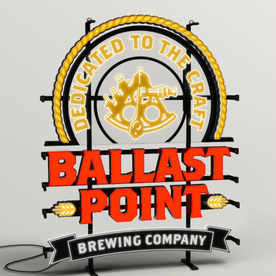 Ballast Point Logo LED Sign LARGE