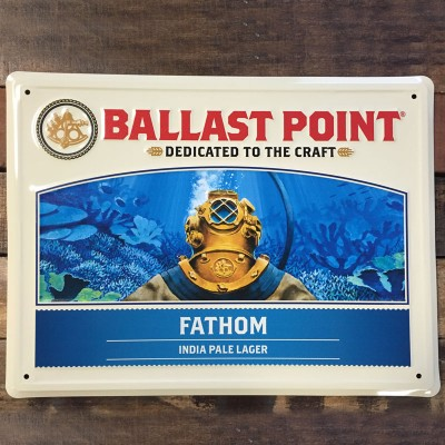 Fathom IPL Tin Sign