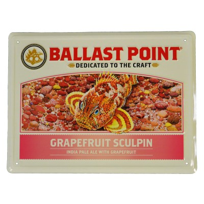 Grapefruit Sculpin Tin Sign LARGE