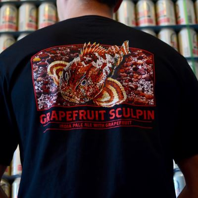 Grapefruit Sculpin Men's T-Shirt LARGE