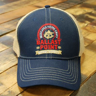 Ballast Point Navy Classic Trucker Hat LARGE