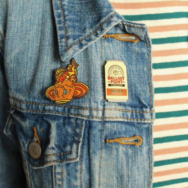 Ballast Point Sculpin Pins