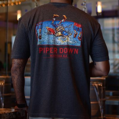 Piper Down Men's T-Shirt