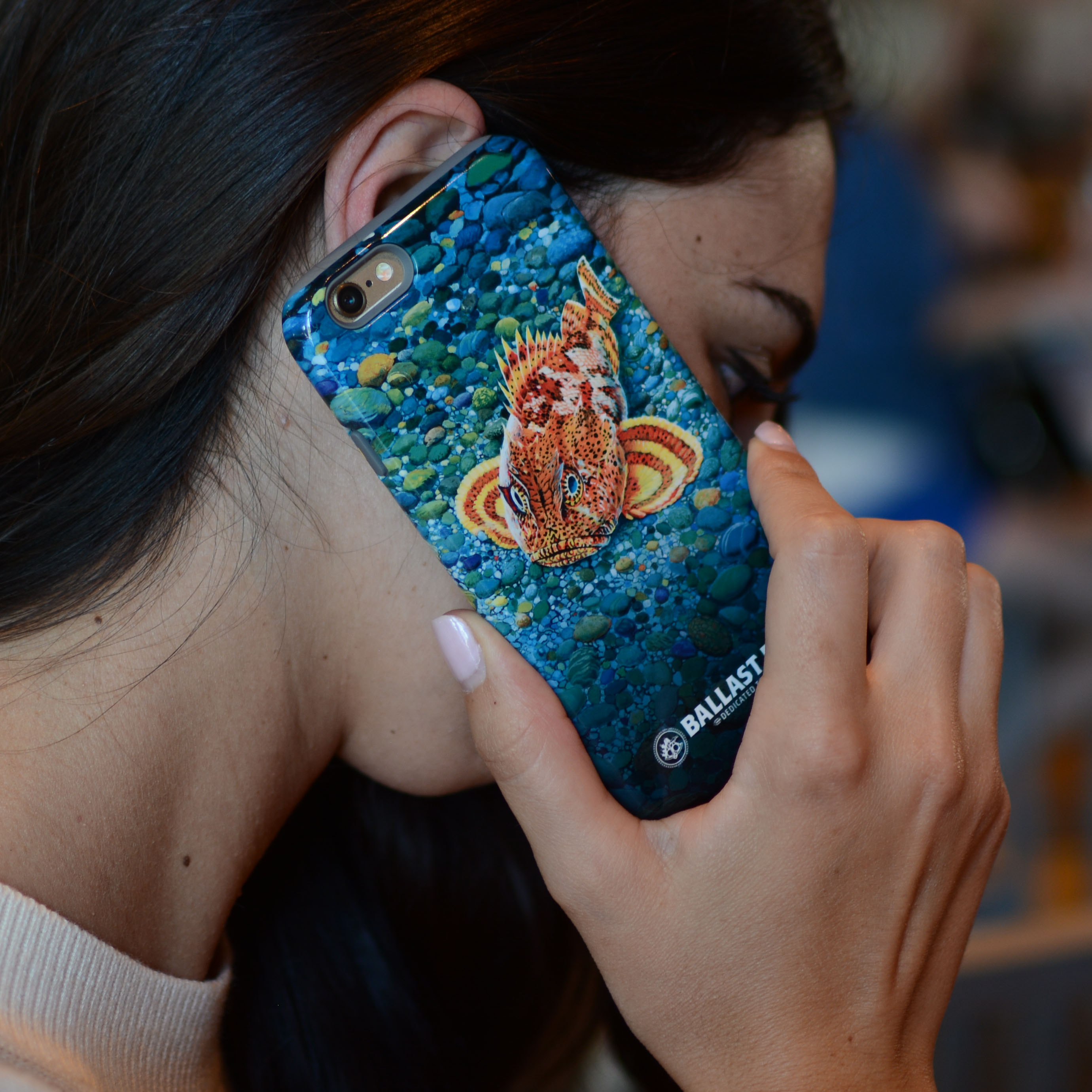 Ballast Point Sculpin iPhone Case