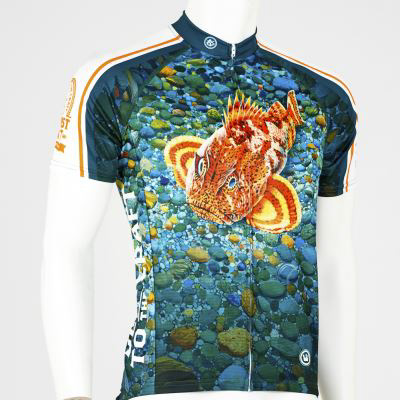 Men's Ballast Point Sculpin Bike Jersey LARGE