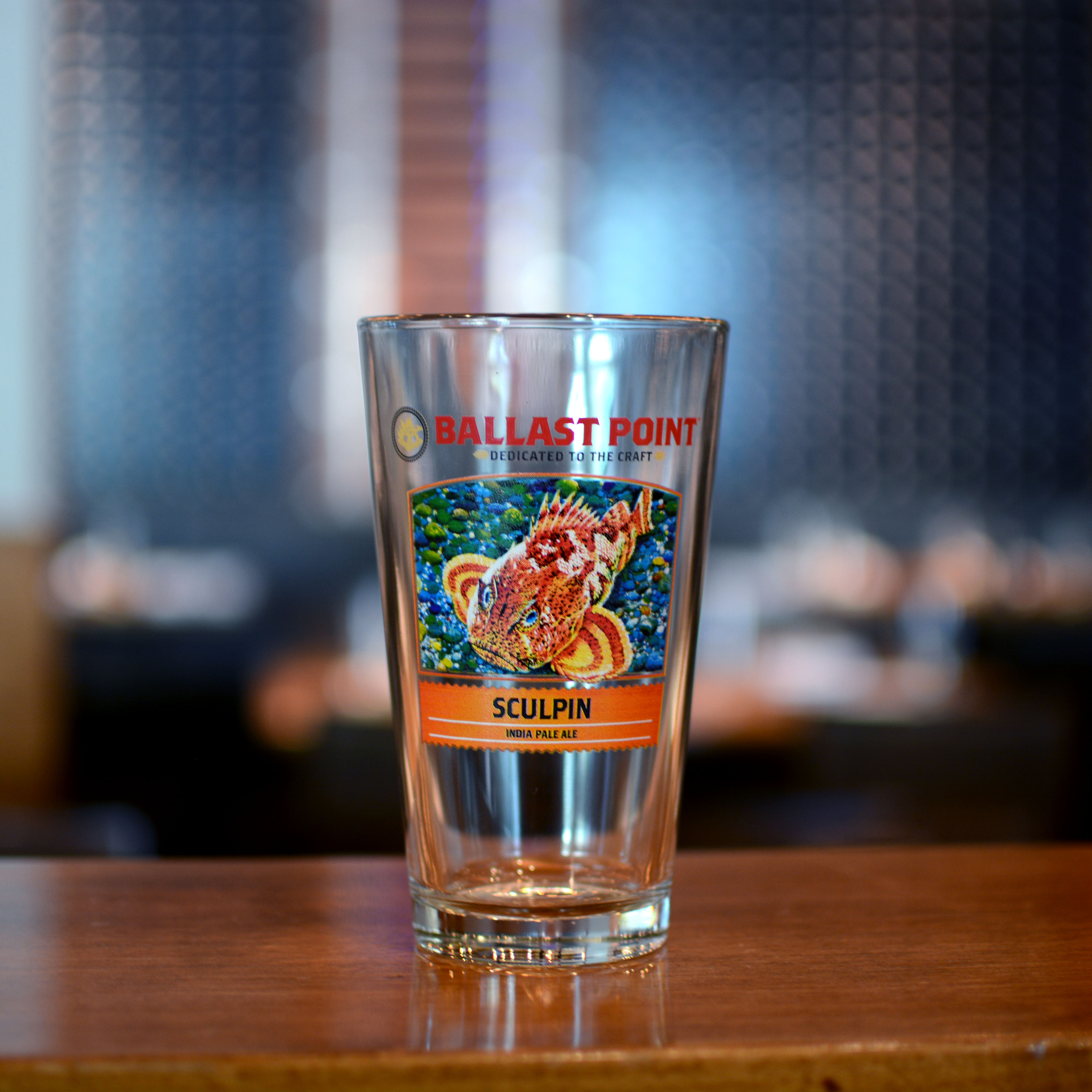 Sculpin IPA Pint Glass