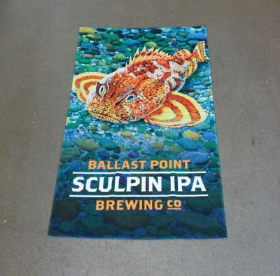 Ballast Point Sculpin Beach Towel LARGE