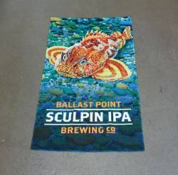 Ballast Point Sculpin Beach Towel