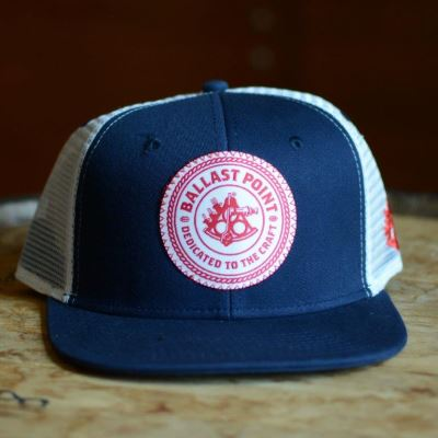 Ballast Point Blue and Red Trucker Hat_LARGE