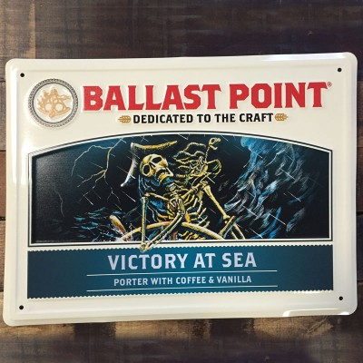 Victory at Sea Tin Sign