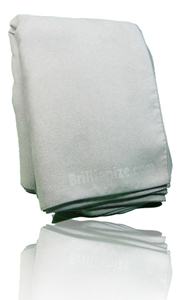 Brillianize Microsuede Polishing Cloth - Bulk 12 Pack LARGE