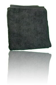 Black Brillianize Microfiber Polishing Cloth - Bulk 12 Pack LARGE