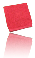 Red Brillianize Microfiber Polishing Cloth - Bulk 12 Pack THUMBNAIL