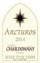 2014 Arcturos Chardonay white wine label
