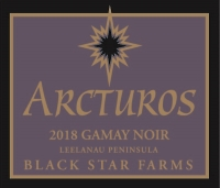 Arcturos Gamay Noir red wine label LARGE