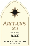 Arcturos Pinot Noir rose wine label_THUMBNAIL