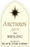 2019 Arctus Dry Riesling white wine label THUMBNAIL