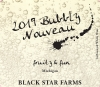 Bubbly Nouveau sparkling wine label THUMBNAIL