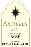 Arcturos Pinot Noir rose wine label THUMBNAIL