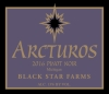Arcturos Pinot Noir red wine label_THUMBNAIL