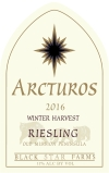 Winter Harvest dessert wine label